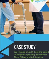 We Helped a North Carolina based Orthopedic Specialty Streamline Their Billing and AR Services